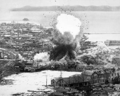 Korean_War_bombing_Wonsan
