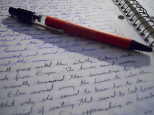 self-editing writing